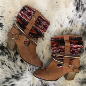 STEVE MADDEN Bohemian Leather Boots